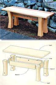 Picnic Table With Benches Plans Bench With Backrest Plans Picnic Table With Backrest Plans Wood