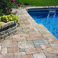stone deck tiles pool doherty house types of stone deck tiles