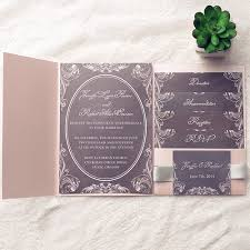 pocket wedding invitation kits chalkboard blush pink pocket wedding invitation kits ewpi147 as