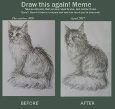 Draw This Again Meme Fail - draw this again meme warrior cats untold tales