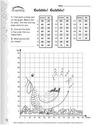 gobble gobble graphing activity teach your child about graph