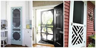 screen door ideas ways use screen doors