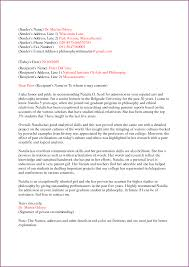 recommendation letter sample for graduate student gallery letter