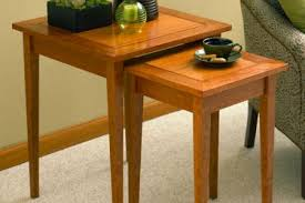 Wood End Table Plans Free by Free Nesting End Tables Plan