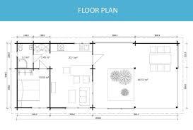Floor Plan Granny Flat Granny Flat Madeira 43m Yzy Kit Homes