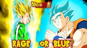 Green Or Blue Should Gohan Unlock Super Saiyan Rage Or Blue In The Universal