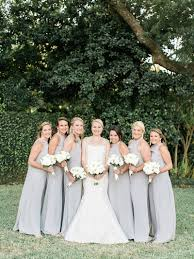 Light Gray Bridesmaid Dress Silver Wedding Archives Southern Weddings