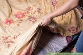 Can You Wash Comforters How To Clean A Down Comforter At Home 12 Steps With Pictures