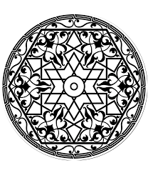 imagenes mandalas arabes free coloring page coloring adult pattern arabe arabs patterns in a