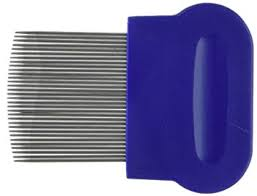 metal comb schooltime lice nit comb metal comb with ergonomic