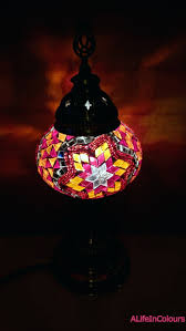 Mosaic Table Lamp Table Lamps Mosaic Table Lamp Mosaic Table Lamp Teal Large Black