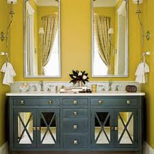 bathroom blackhite yellow gray and accessories decor theme scenick