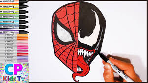 spiderman vs venom coloring pages part 41 spiderman coloring