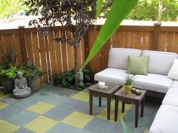 Small Condo Patio Design Ideas Small Patio Makeover Patios by Patio Oasis Small Townhouse Backyard Turned Into An Outdoor