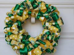 deere ribbon 51 best deere wreaths images on mesh wreaths