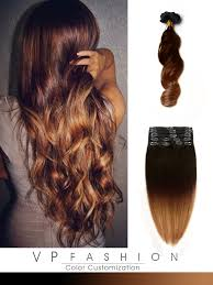 ombre hair extensions clip in light auburn ombre indian remy clip in hair extensions ms3020