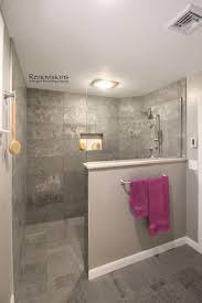 Bathroom With Open Shower Basement Bathroom Ideas On Budget Low Ceiling And For Small Space