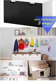 ikea stuva bench 3 ways ikea hackers ikea hacks pinterest