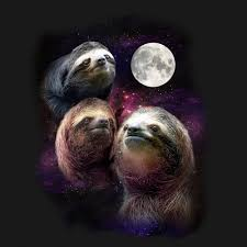 Sloth Meme Shirt - three sloth moon shirtigo