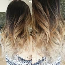 gambar tutorial ombre rambut model gaya rambut wanita rambut ombre gaya rambut ombre gambar
