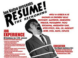Fake Resumes That Work 13 Insanely Cool Resumes That Landed Interviews At Google And