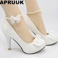 wedding shoes ivory wedding shoes milk white light ivory pumps for woman low high