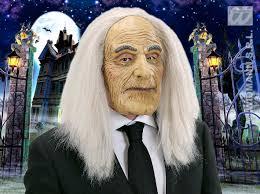 old halloween masks scary old man butler mask adams family halloween fancy dress ebay