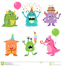 birthday monster clipart clipartxtras