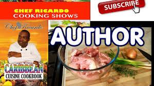 cuisine ricardo com caribbean cuisine cookbook paperback by chef ricardo author