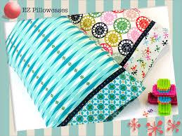 ez playful pillowcases sew4home