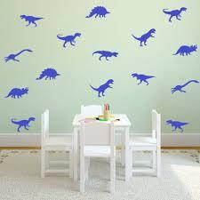 cartoon dinosaur wall sticker home decor animal dinosaur wall