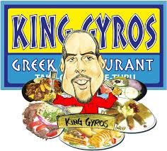 menu king gyros greek restaurant