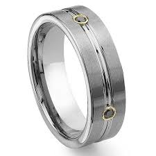 mens black diamond wedding bands tungsten carbide gold eternity black diamond wedding band ring