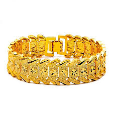 luxury bracelet gold chains images Fashion men luxury gold chain bracelets ng jpg
