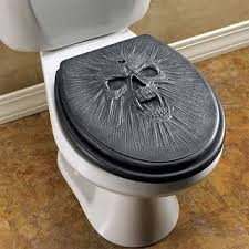 themed toilet seats black skull toilet seat this is much yet i m pinning it
