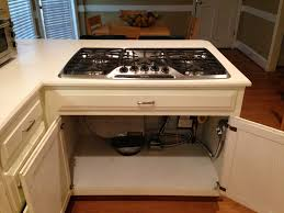Gas Cooktop With Downdraft Vent Convert Your Range To Gas Man For All Reasons