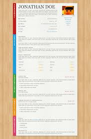 Fancy Resume Templates 40 Great Html Cv Resume Templates Template Idesignow