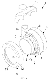 patent us8312595 castor wheel construction for furniture pieces