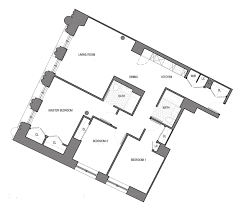 3 bedroom floorplan offerman house