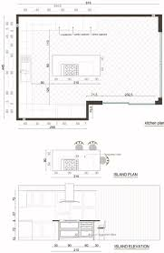 Kitchen Floor Plans With Island Cabinet Island Kitchen Plan Kitchen Floor Plans Kitchen Island