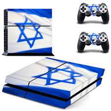 Flag Of Israel State Of Israel Flag Ps4 Skin Sticker Decals For Playstation4