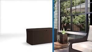 furniture suncast storage bins suncast deck box suncast 150