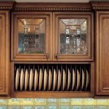 kitchen cabinet plate rack cap rack