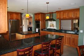 furniture inspiring ideas with counter top cabinet oak kitchen