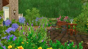 Sims 3 Garden Ideas Simply Ruthless The Garden Cottage Challenge