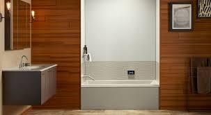 Bathtub And Wall One Piece Choreograph Shower Wall And Accessory Collection Bathroom Kohler