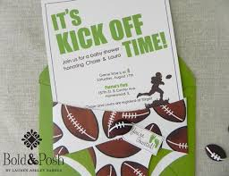 football baby shower 25 images of football themed baby shower invitation template