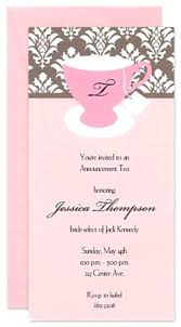 bridal tea party invitation wording wedding shower tea party invitations simplo co