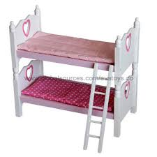 wooden doll bunk beds ana white doll bunk beds for american