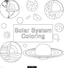 planets coloring pages ecoloringpage printable coloring